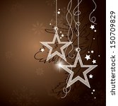 christmas background. vector... | Shutterstock .eps vector #150709829