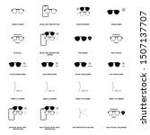 eyeglasses optometry vector... | Shutterstock .eps vector #1507137707