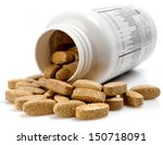 vitamin pills | Shutterstock . vector #150718091