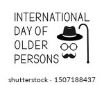 international day of older... | Shutterstock .eps vector #1507188437