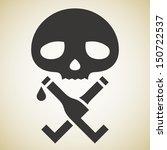 drinking death   Shutterstock .eps vector #150722537