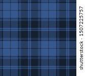 Blue Tartan Plaid Scottish...