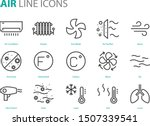 set of air icons  such as air... | Shutterstock .eps vector #1507339541
