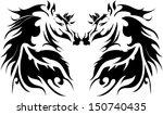 horse tattoo   Shutterstock .eps vector #150740435