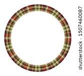 round frame vector vintage... | Shutterstock .eps vector #1507460087