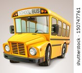 school bus vector illustration | Shutterstock .eps vector #150747761