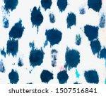 Motley Grunge Blue Background....