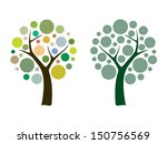 vector tree 15 | Shutterstock .eps vector #150756569
