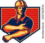 illustration of a construction... | Shutterstock .eps vector #150760541