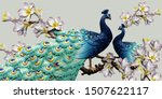 3d Illustration Of Peacock ...