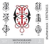 Vintage Monograms JO JP JF JZ JZ JG JW