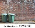trash can rubbish bin dustbins... | Shutterstock . vector #150766541