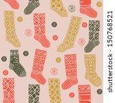 Decorative Winter Stockings