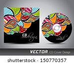 cd cover design for your... | Shutterstock .eps vector #150770357