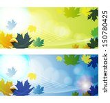 vector illustration of  autumn... | Shutterstock .eps vector #150780425