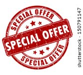special offer vector stamp | Shutterstock .eps vector #150791147
