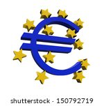 european central bank symbol | Shutterstock . vector #150792719
