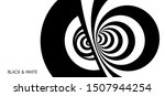 pattern with optical illusion.... | Shutterstock .eps vector #1507944254