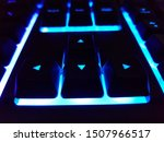 Arrow Keys On Colorful Backlit...