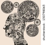 time.  | Shutterstock .eps vector #150798065