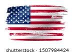 grunge united states of america ... | Shutterstock .eps vector #1507984424