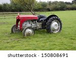 Vintage Style 1940's Tractor I...