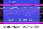 glitch camera effect. retro vhs ... | Shutterstock .eps vector #1508138921