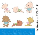 an image of a baby set. | Shutterstock .eps vector #150818141