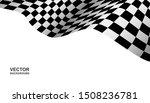 black and white checkered flag...   Shutterstock .eps vector #1508236781