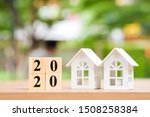 Two House And 2020 Wooden...