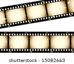 grunge film strip | Shutterstock .eps vector #15082663