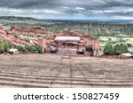 The Red Rocks Amphitheater...