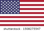 flag of the united states     | Shutterstock . vector #1508275547