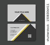 vector modern creative and...   Shutterstock .eps vector #1508306411