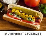Chicago Style Hot Dog With...