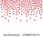 heart scatter flying on white... | Shutterstock .eps vector #1508373371
