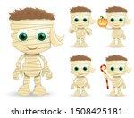 mummy halloween vector... | Shutterstock .eps vector #1508425181