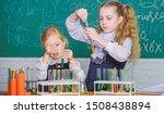 Girls On School Chemistry...