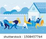 Hyperactive Children On House...
