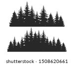 beautiful hand drawn forest fir ... | Shutterstock .eps vector #1508620661