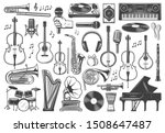 Musical Instrument Icons  Jazz...