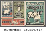 cattle and poultry farming ... | Shutterstock .eps vector #1508647517