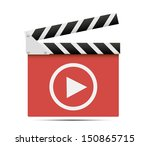 media player icon. | Shutterstock . vector #150865715
