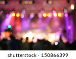 out of focus shimmering... | Shutterstock . vector #150866399