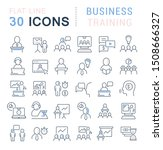 set of line icons of business... | Shutterstock . vector #1508666327