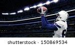 american football touchdown... | Shutterstock . vector #150869534