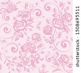 seamless floral pattern with...   Shutterstock .eps vector #1508695511