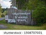 Okefenokee Swamp  Florida  ...