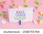 conceptual hand writing showing ... | Shutterstock . vector #1508755784