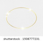 gold shiny glowing frame with... | Shutterstock .eps vector #1508777231